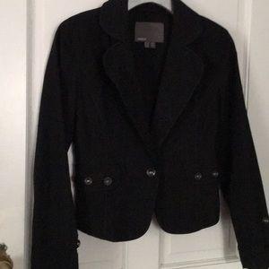 Black lightweight blazer